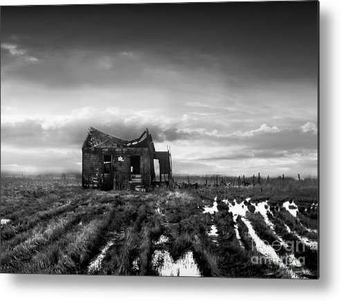 Architecture Metal Print featuring the photograph The Shack by Dana DiPasquale