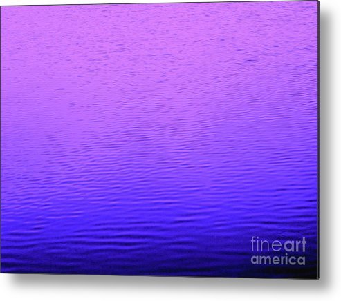 Water Metal Print featuring the photograph You Can Relax-now by Sybil Staples