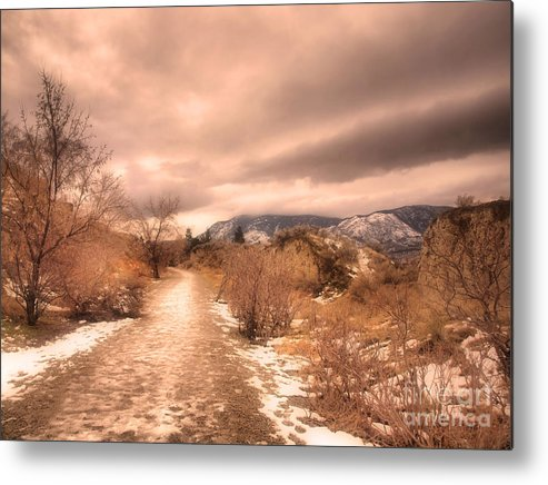 Road Metal Print featuring the photograph The Kvr Collection by Tara Turner