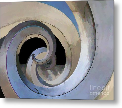 Abstract Metal Print featuring the photograph Abstract No. Four by Tom Griffithe