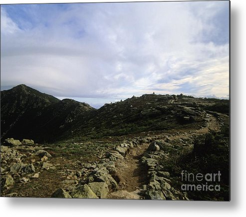 Appalachian Trail Metal Print featuring the photograph Appalachian Trail - Mount Lincoln - White Mountains New Hampshire Usa by Erin Paul Donovan