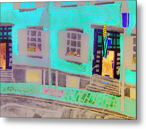 Beacon Hill Metal Print featuring the painting Beacon Hill by Sean Cusack