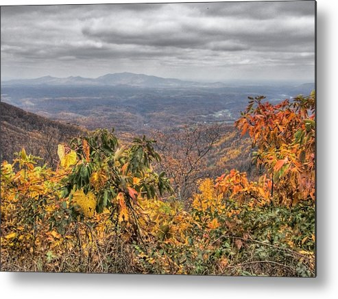 Landscape Metal Print featuring the photograph Big Valley by Michael Edwards