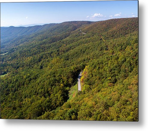 Parkway Metal Print featuring the photograph Blue Ridge Parkway4 by Star City SkyCams