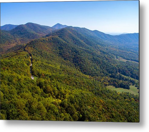 Parkway Metal Print featuring the photograph Blue Ridge Parkway5 by Star City SkyCams