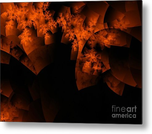 Coral Reef Metal Print featuring the digital art Coral Reef by Ron Bissett