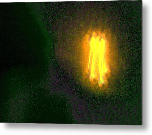 Abstract Metal Print featuring the photograph Cosmic Angels Choir by Lessandra Grimley