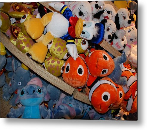 Colors Metal Print featuring the photograph Disney Animals by Rob Hans