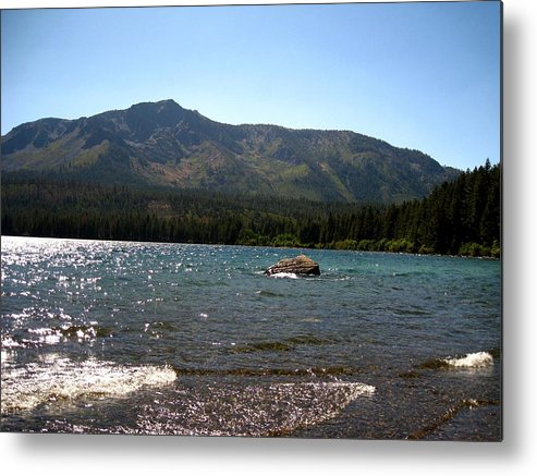 Landscape Metal Print featuring the photograph Fallen Leaf Lake - South Lake Tahoe by Albert Almondia