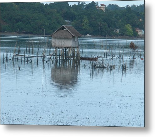 Fish House Metal Print featuring the photograph Fish House by Robert Cunningham