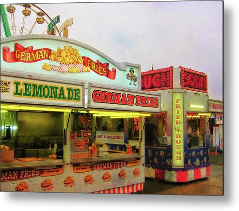 Carnival Metal Print featuring the photograph Food And Fun by JAMART Photography