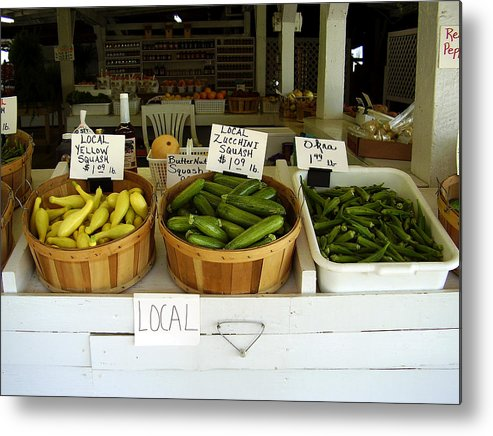 Fresh Produce Metal Print featuring the photograph Fresh Produce by Flavia Westerwelle
