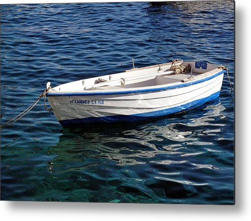 Martine Murphy Metal Print featuring the photograph Going With The Flow by Martine Murphy