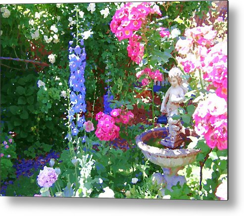 Roses Metal Print featuring the photograph Heaven's Garden by Helen Penwill