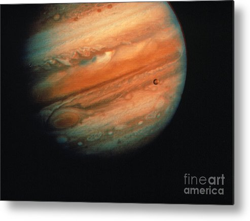 1970s Metal Print featuring the photograph Jupiter, Europa, & Io by Granger