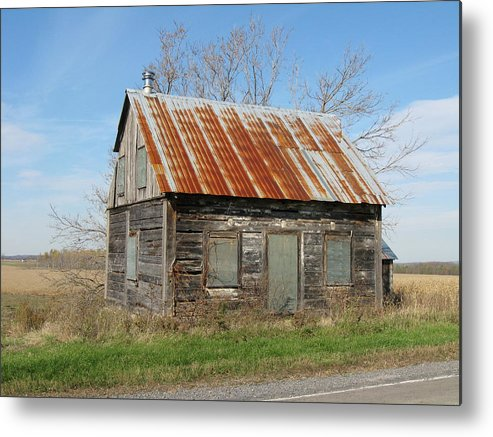 Farmhouses Metal Print featuring the photograph Make A Wish by Richard Stanford