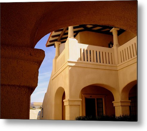 Morocco Metal Print featuring the photograph Moroccan Influence I by Lessandra Grimley