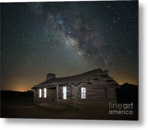 Ghost Ranch Metal Print featuring the photograph New Mexico Night Sky by Art Cole