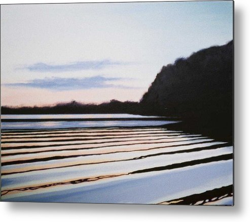 Peace Project Metal Print featuring the painting Peace by Hunter Jay