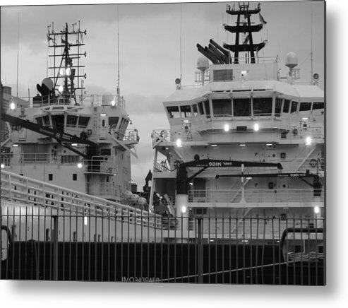 Port Metal Print featuring the photograph Portside by Staci-Jill Burnley