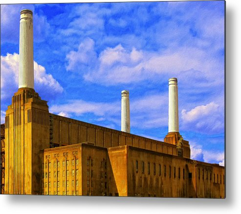 Power Source Metal Print featuring the painting Power Source by Dominic Piperata