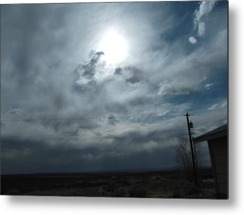 Metal Print featuring the photograph Returning Sunshine by Curtis Willis