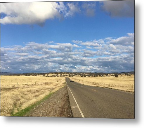 California Metal Print featuring the photograph Road To Nowhere by Dani Keating