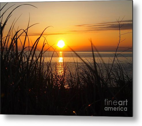 Sagamore Beach Metal Print featuring the photograph Sagamore Beach Early by Donny Morse