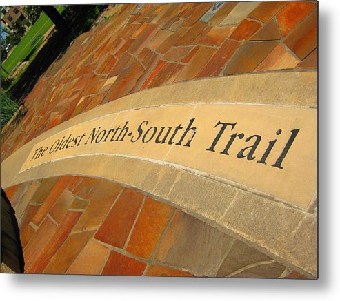 Metal Print featuring the photograph Shawnee Trail by Diana Moya