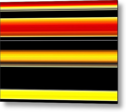 New Metal Print featuring the digital art Spectra 10112 by Chuck Landskroner