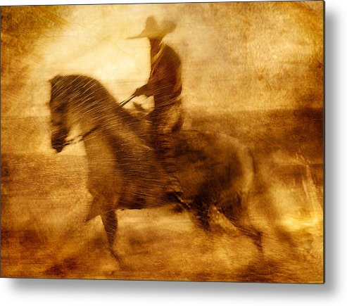 Beach Metal Print featuring the photograph Spirit Of The Charro by Nick Sokoloff