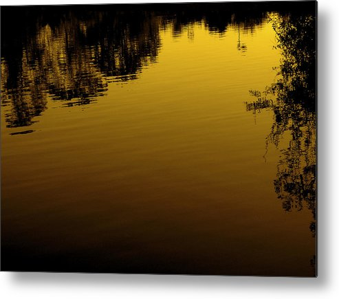 Landscapes Metal Print featuring the photograph Spring Lake by Jeff DOttavio