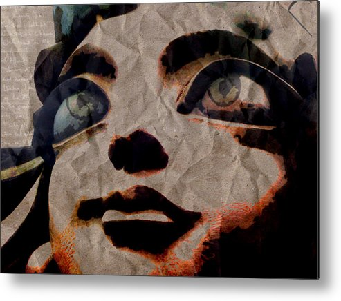 Statues Metal Print featuring the digital art Statues Don't Cry by Shawn Ross