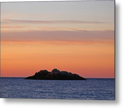 Sunrise Metal Print featuring the photograph Sunrise At Manchester By The Sea by Juergen Roth