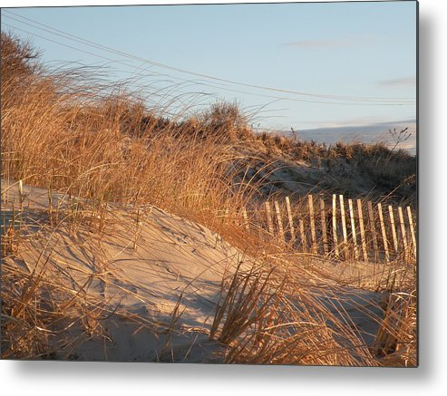 Sunrise Metal Print featuring the photograph Sunrise On The Dunes by Donald Cameron