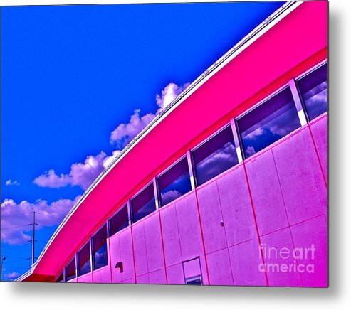 Austin Metal Print featuring the photograph Texas State Office by Chuck Taylor