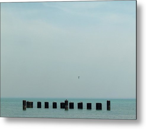 Chicago Metal Print featuring the photograph The Breakers by Jacob Stempky