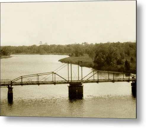 River Metal Print featuring the painting The Old Bridge by Debbie May