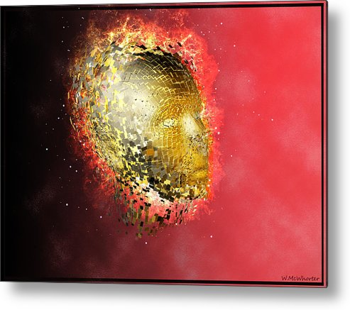 3d Metal Print featuring the painting Transition by Williem McWhorter
