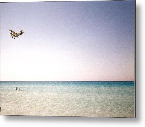 Beach Metal Print featuring the photograph Varadero Beach by Ana Aguiar