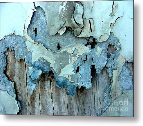 Digital Metal Print featuring the photograph Watching Paint Dry by Ron Bissett