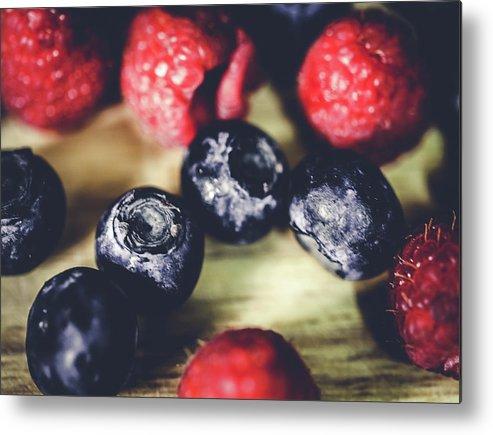 Berries Metal Print featuring the photograph Berries by Hyuntae Kim