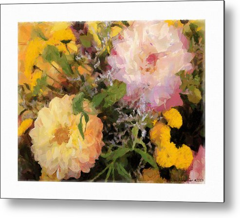 Digital Metal Print featuring the photograph Bouquet by Ron Alderfer