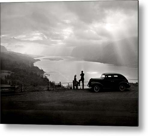 Metal Print featuring the photograph Columbia Gorge by Ray Atkinsen