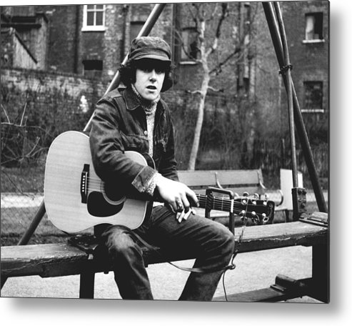 Donovan Metal Print featuring the photograph Classic 60's - Donovan by Chris Walter