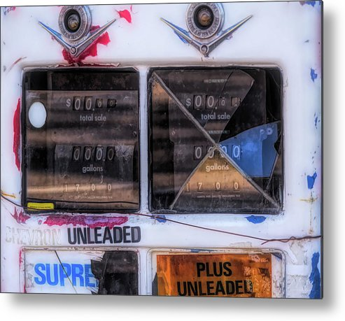 Monterey Metal Print featuring the photograph 17 Cents Per Gallon by Alan Kepler