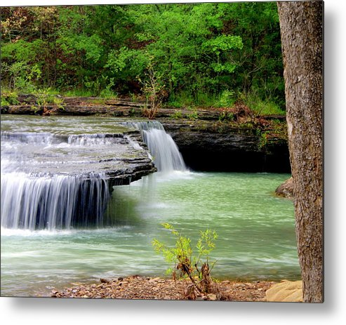 Waterfalls Metal Print featuring the photograph Haw Creek Falls by Marty Koch
