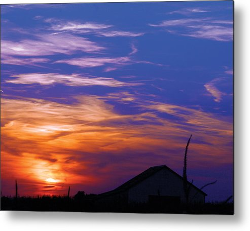 Sunset Metal Print featuring the photograph Visionary Sunset by Carl Perry