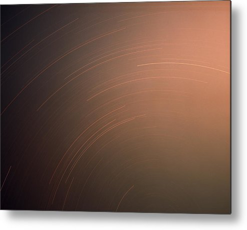 Nature Metal Print featuring the photograph Silver Star Dial by Benjamin Garvey