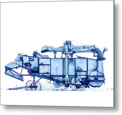 Thresher Metal Print featuring the photograph Terrence by Ralph Keating
